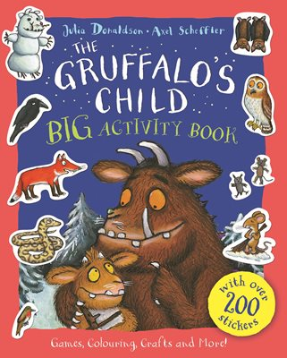 Book cover for The Gruffalo's Child BIG Activity Book